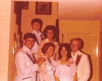 PROM MAY OF 1979 Dawn Birmingham-Weiss & Geza Binger, Paul Grayless & Pam Magnuson-Speare and Greg Hinson & Mahria Rutch