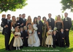 Patsy Michinock Kochis family wedding photo. Pictures our 4 children with their spouses and 10 grandchildren. 2 more bab