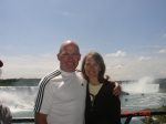 Kevin and Darlene, Niagara Falls - Canadian Side - Summer 2009