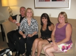 Nick & Linda Ruppe Baranishyn, Nancy Acosta Santos & Sandy Glass Benz