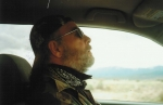 Me (Tim Harmon) driving in the boonies (my hometown in northernmost California.