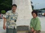 Monument honoring First Congressional Congress of the Phillipines - Elizabeth's Father, Agripino Escareal=Congressman,